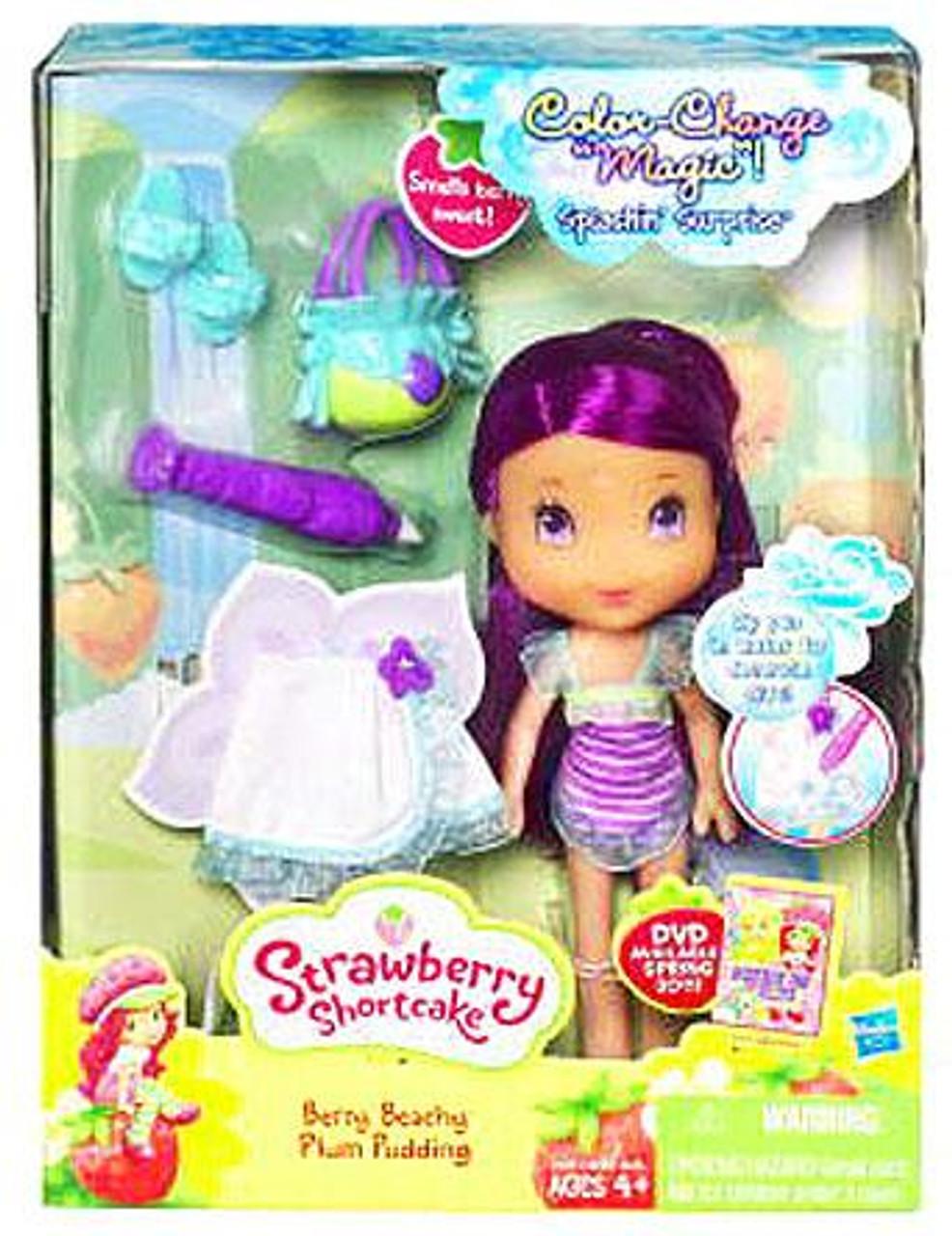Strawberry Shortcake Splashin' Surprise Berry Beachy Plum Pudding Doll Set