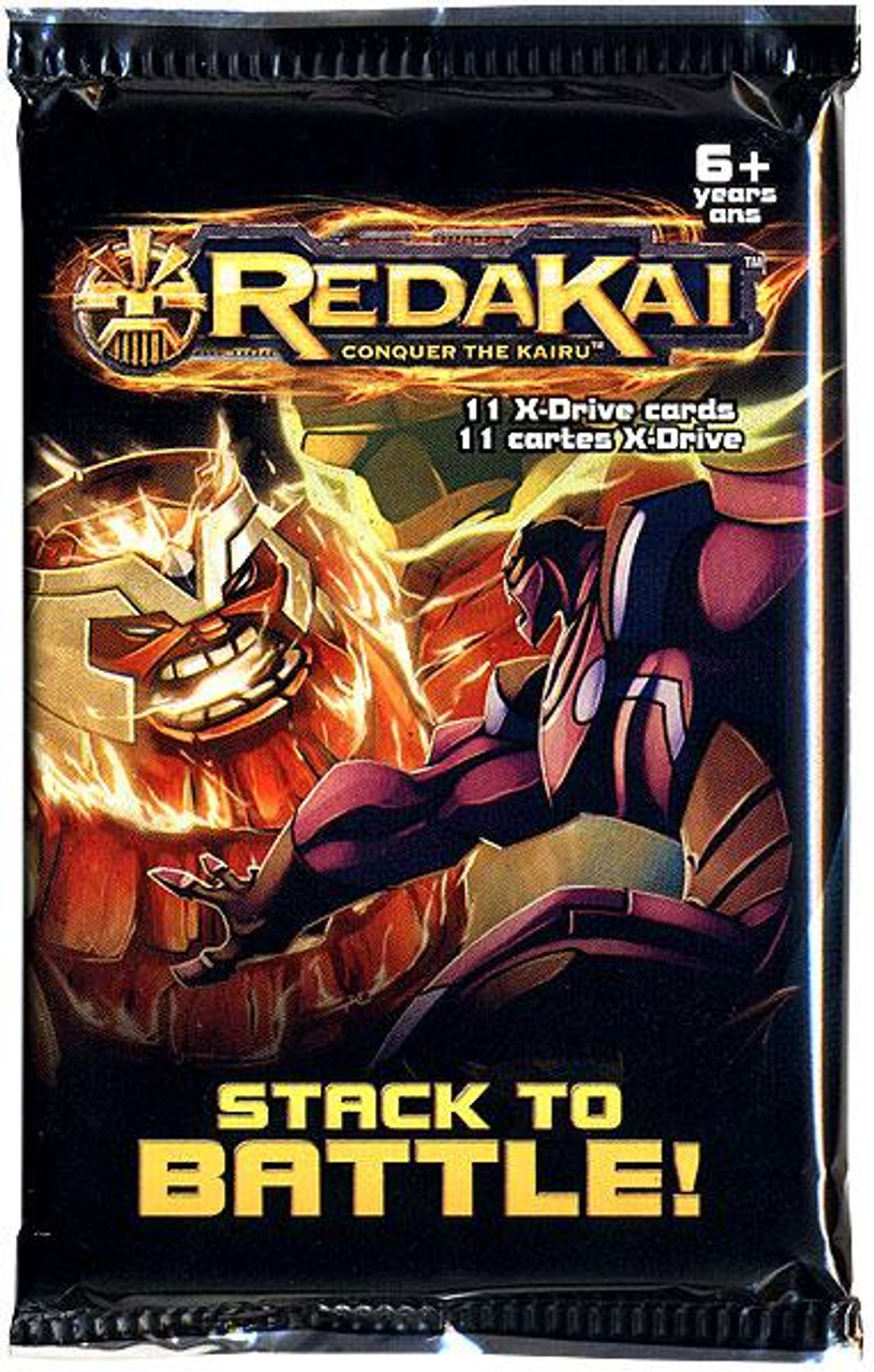 Redakai Conquer the Kairu X-Drive Power Pack Booster Pack [Hobby Edition]