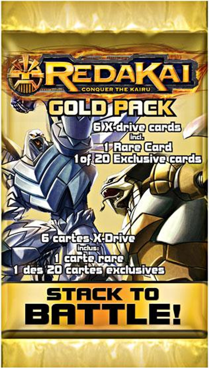 Redakai Conquer the Kairu Gold Booster Pack