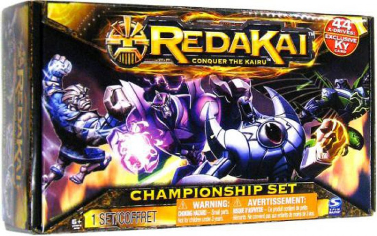 Redakai Conquer the Kairu Hobby Edition Championship Set