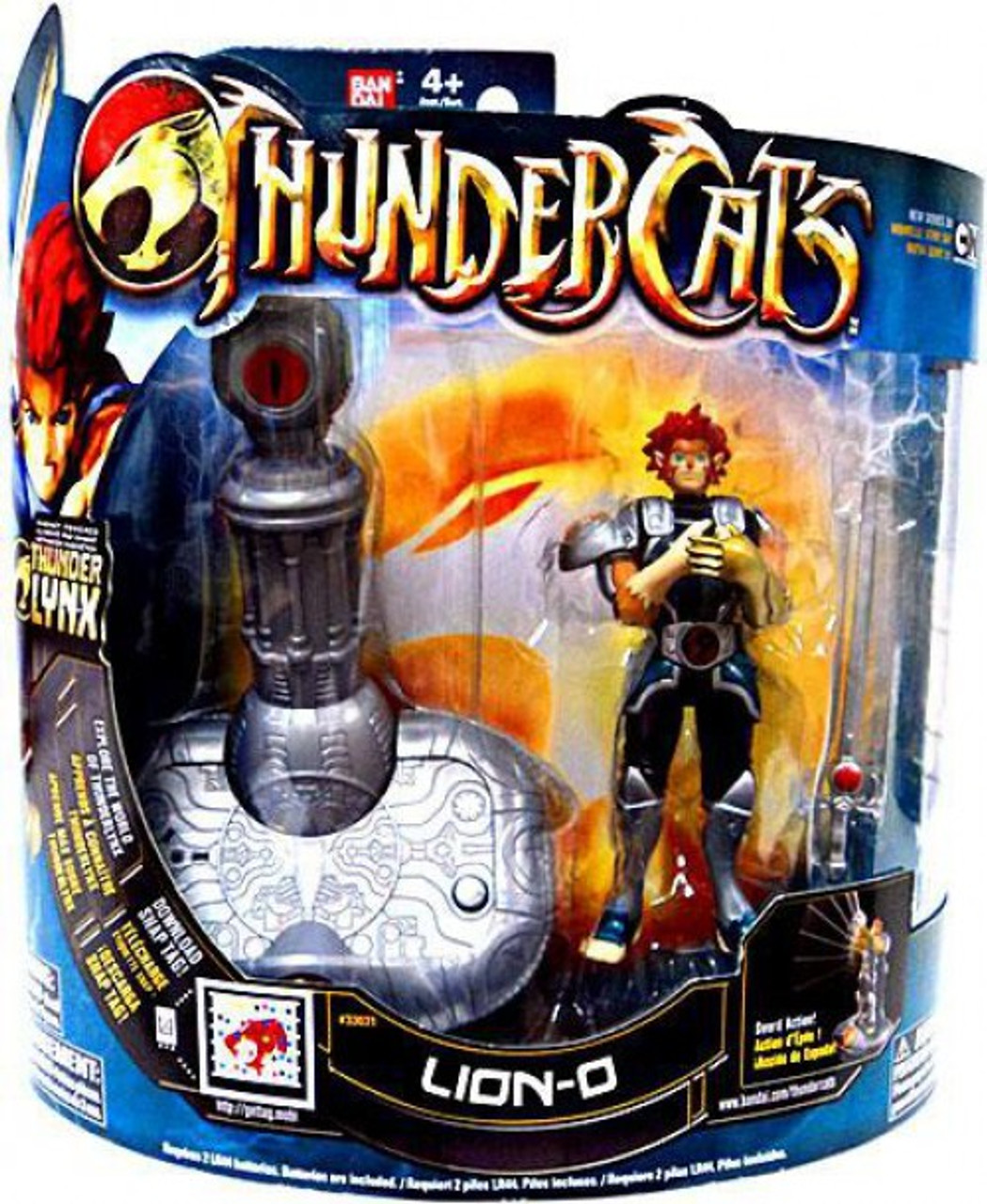 Thundercats Thunder Lynx Deluxe Lion-O Action Figure