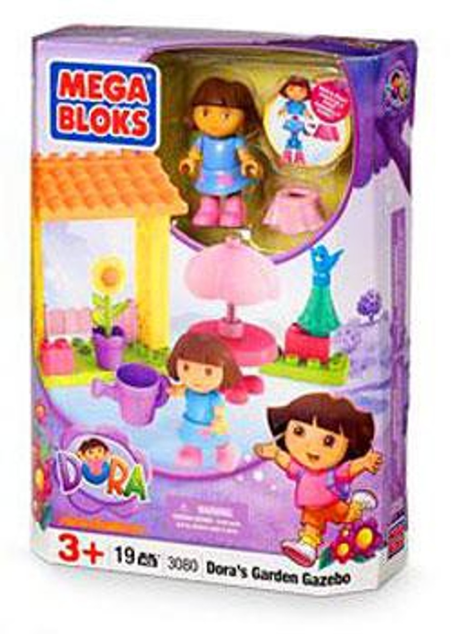 Mega Bloks Dora the Explorer Dora's Garden Gazebo Set #3080