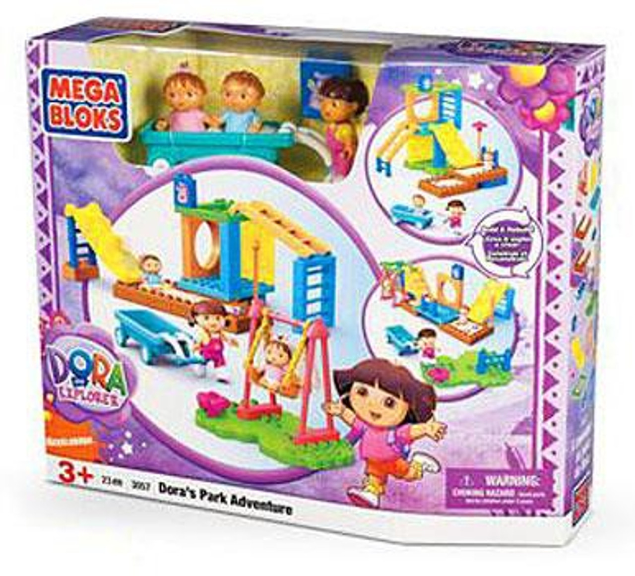 Mega Bloks Dora the Explorer Dora's Park Adventure Set #3057