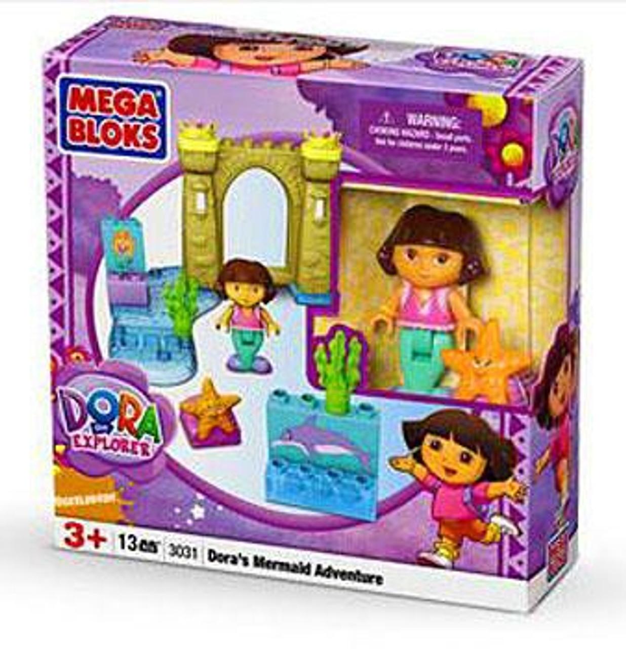 Mega Bloks Dora the Explorer Dora's Mermaid Adventure Set #3031