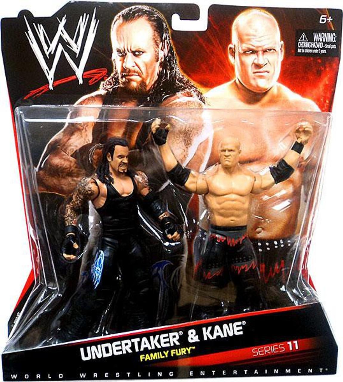 WWE Wrestling Series 11 Undertaker & Kane Action Figure 2-Pack