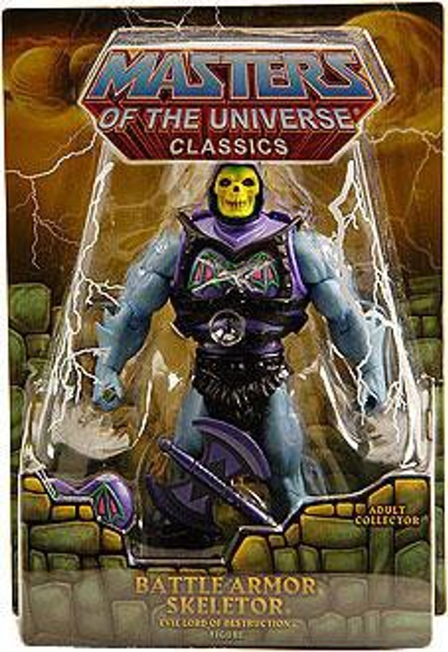 Masters of the Universe Classics Club Eternia Skeletor Exclusive Action Figure [Battle Armor]