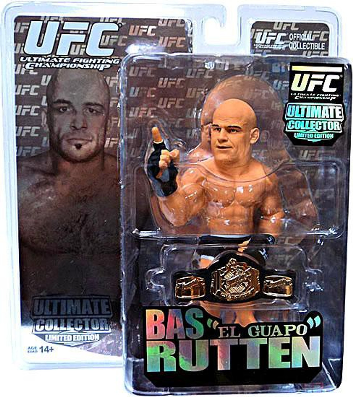 """UFC Ultimate Collector Series 6 Bas """"El Guapo"""" Rutten Action Figure [Limited Edition]"""
