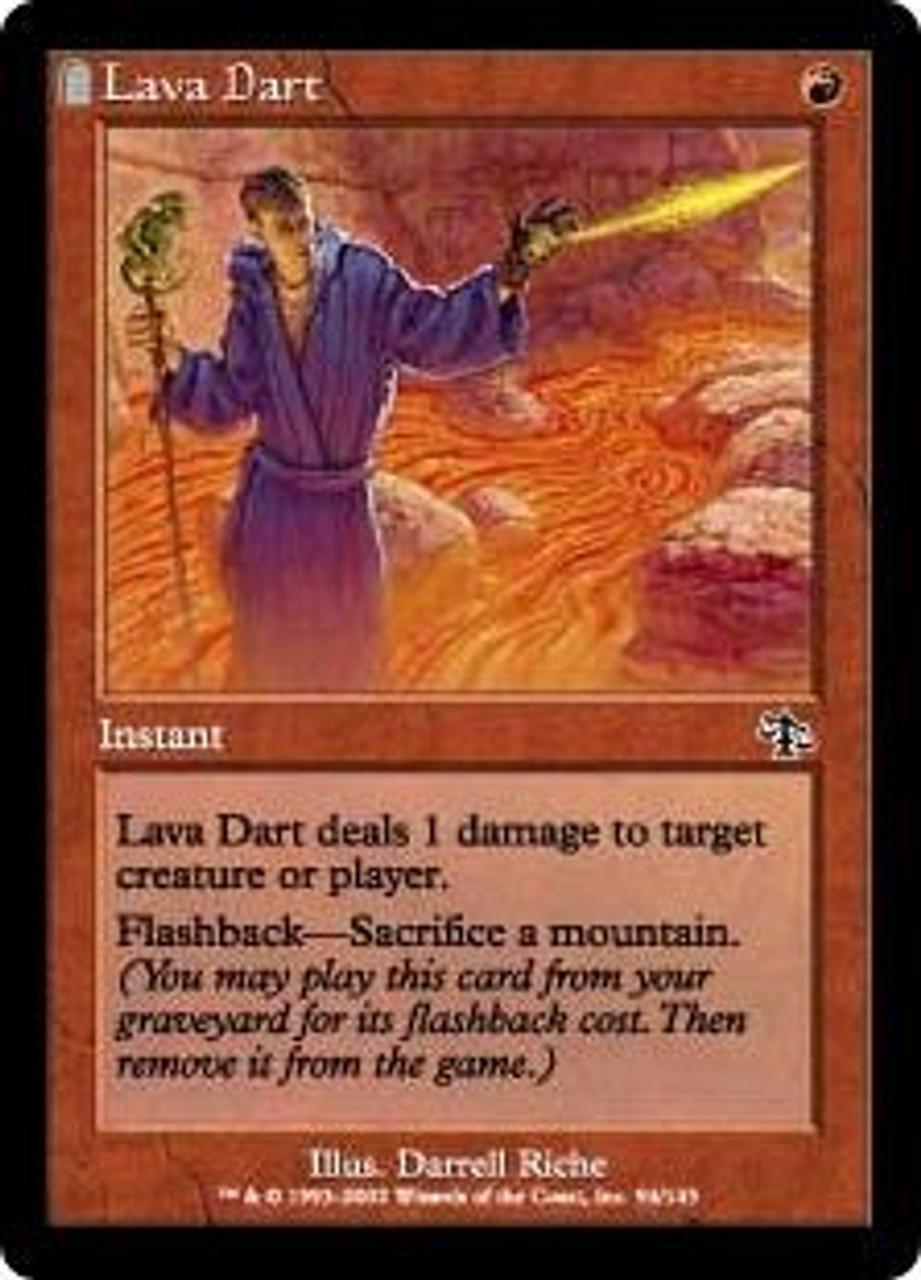 MtG Judgment Common Lava Dart #94