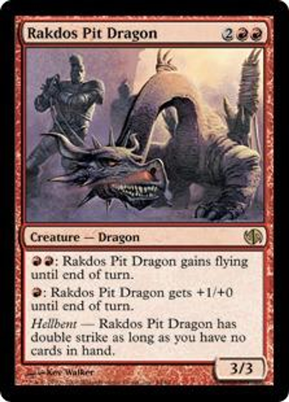 MtG Duel Decks: Jace vs. Chandra Rare Rakdos Pit Dragon #44