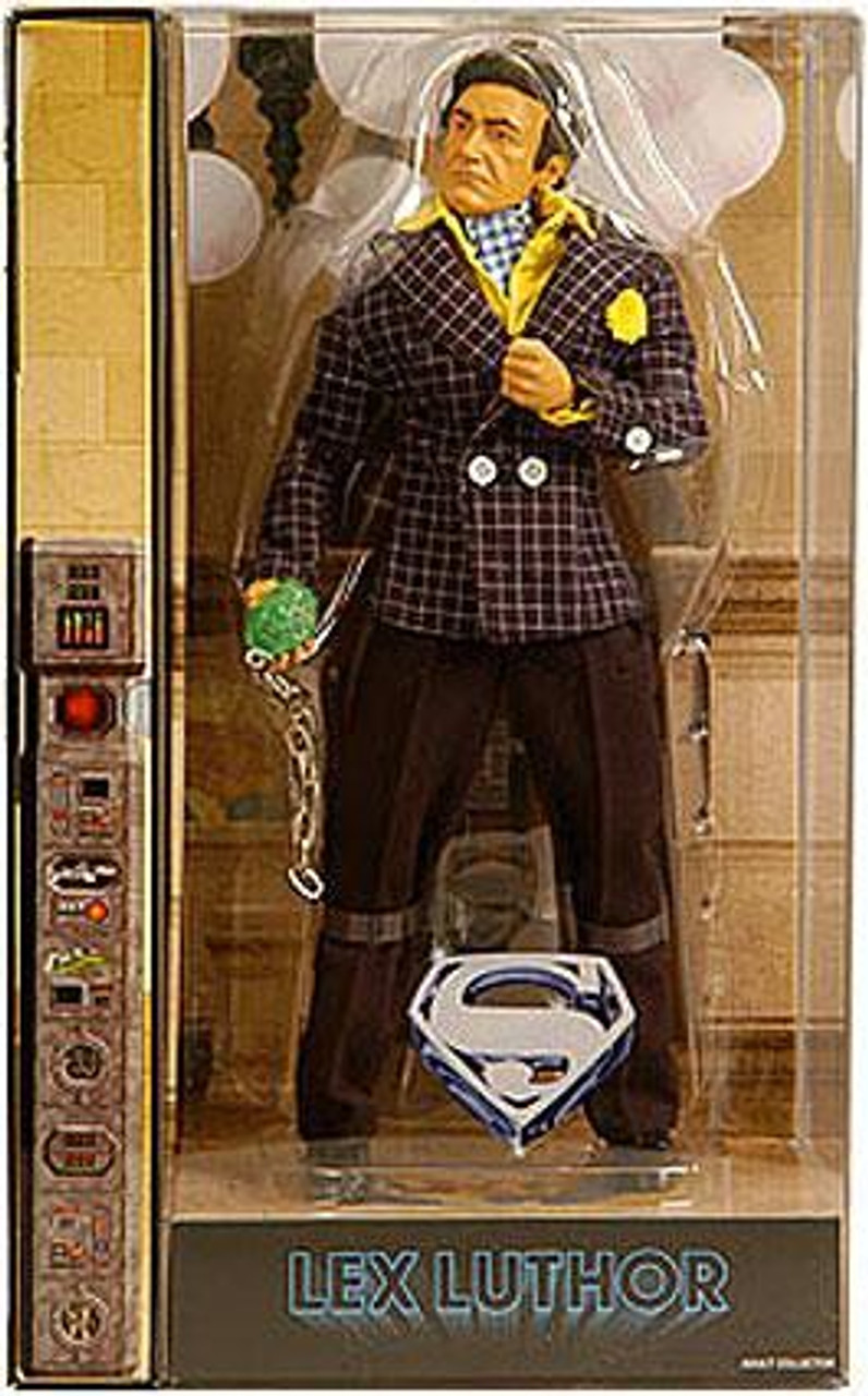 DC Green Lantern Movie Masters Lex Luthor Exclusive Deluxe Action Figure [Gene Hackman]