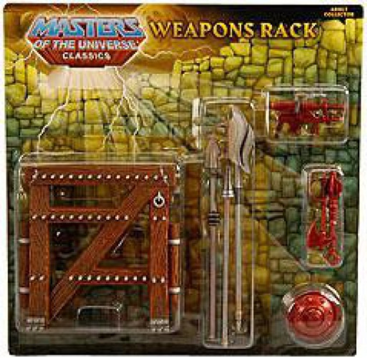 Masters of the Universe Classics Club Eternia Weapons Rack Exclusive Action Figure Weapons Pak