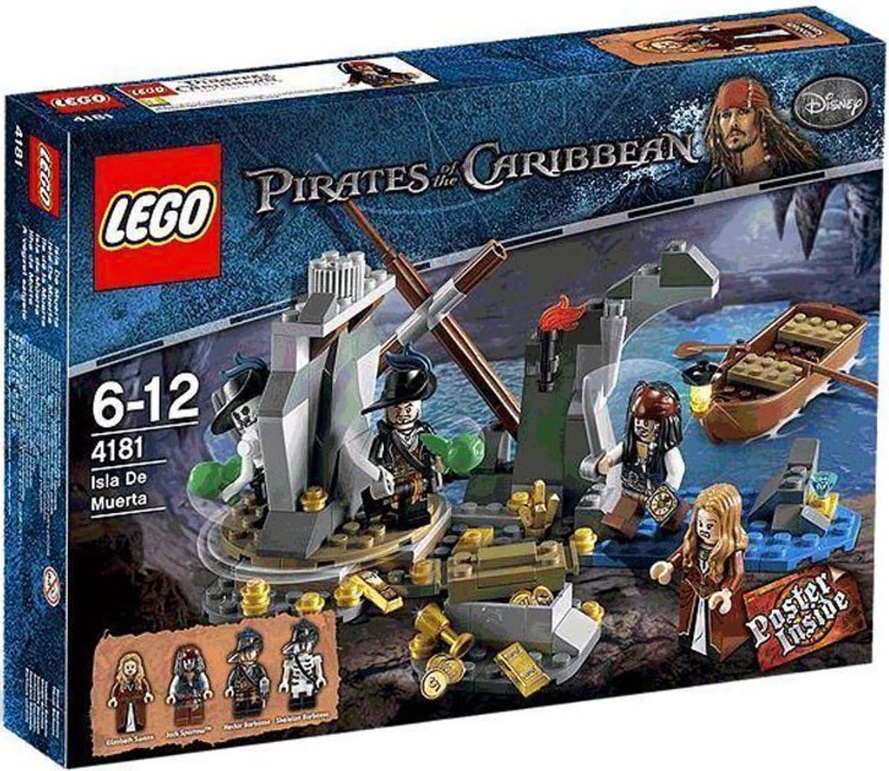 LEGO Pirates of the Caribbean Isla De Muerta Set #4181
