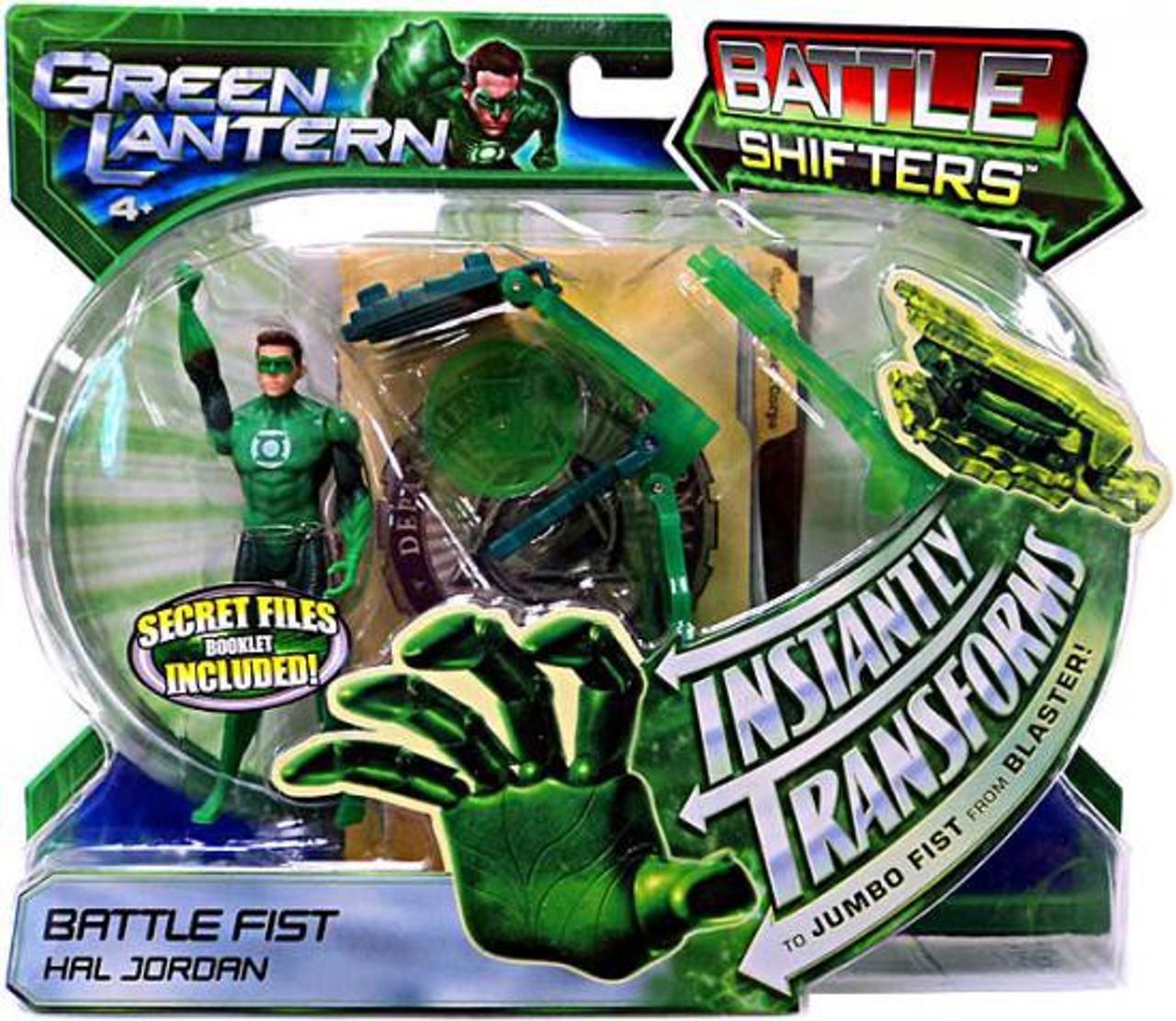 Green Lantern Movie Battle Shifters Hal Jordan Action Figure [Battle Fist]