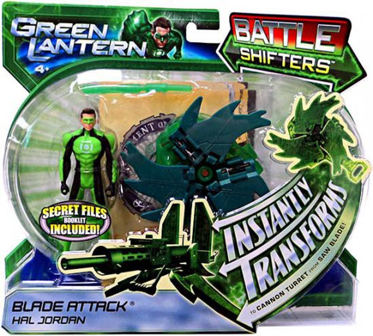 Green Lantern Movie Battle Shifters Hal Jordan Action Figure [Blade Attack]
