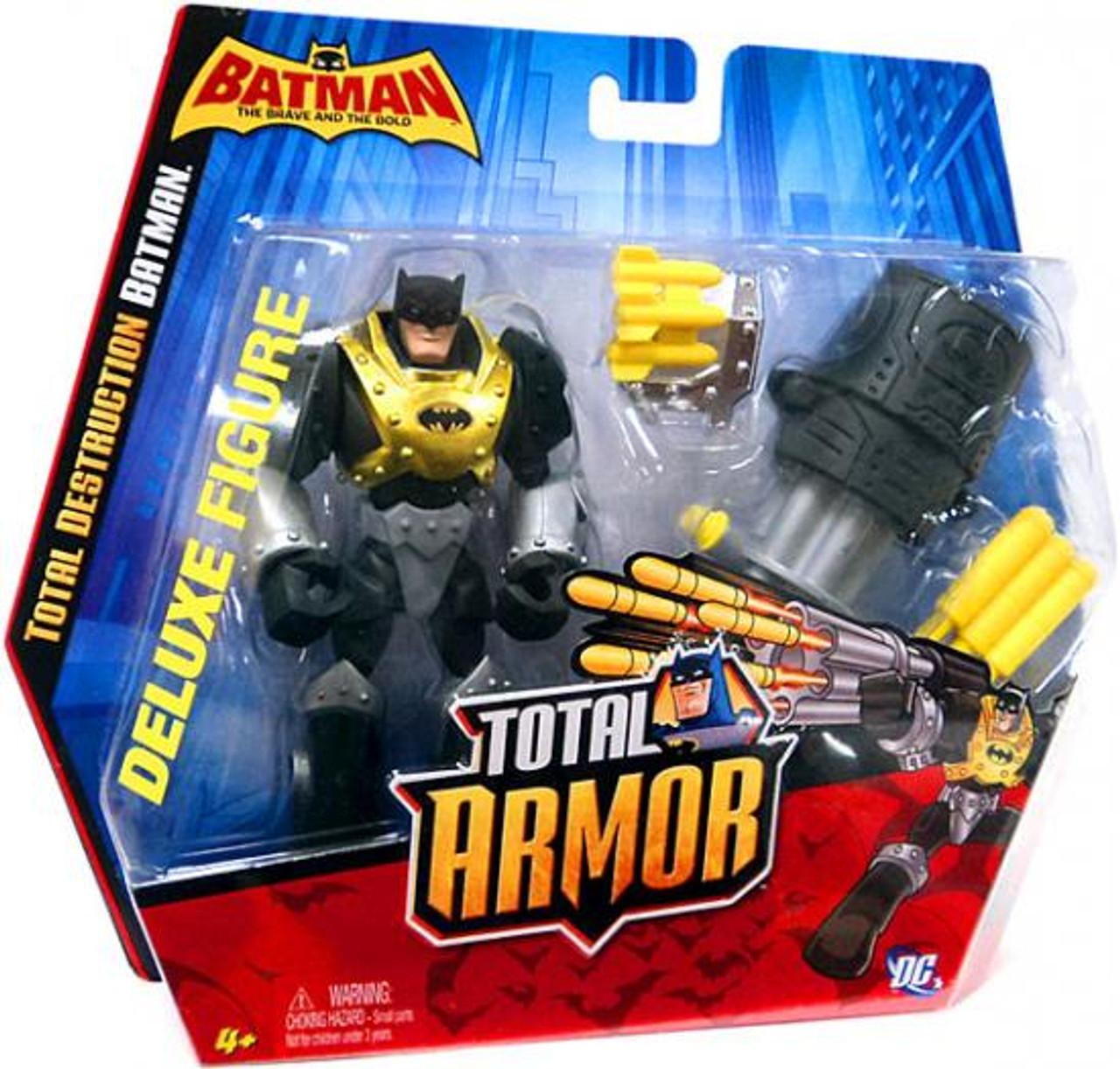 The Brave and the Bold Total Armor Total Destruction Batman Action Figure