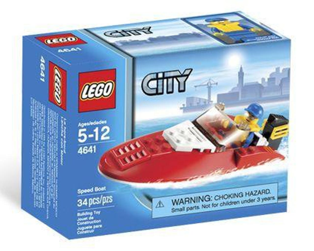 LEGO City Speed Boat Set #4641