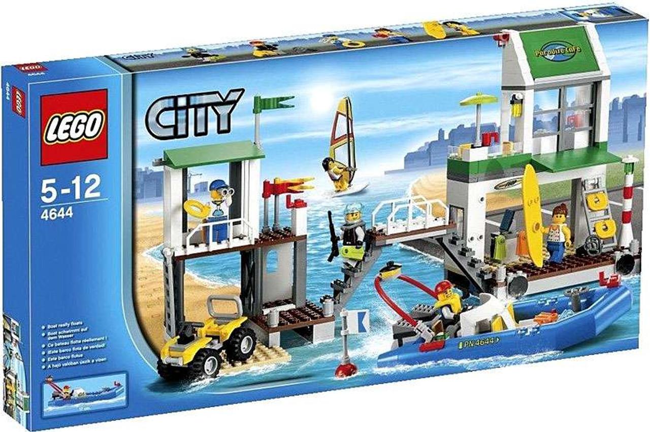 LEGO City Marina Exclusive Set #4644