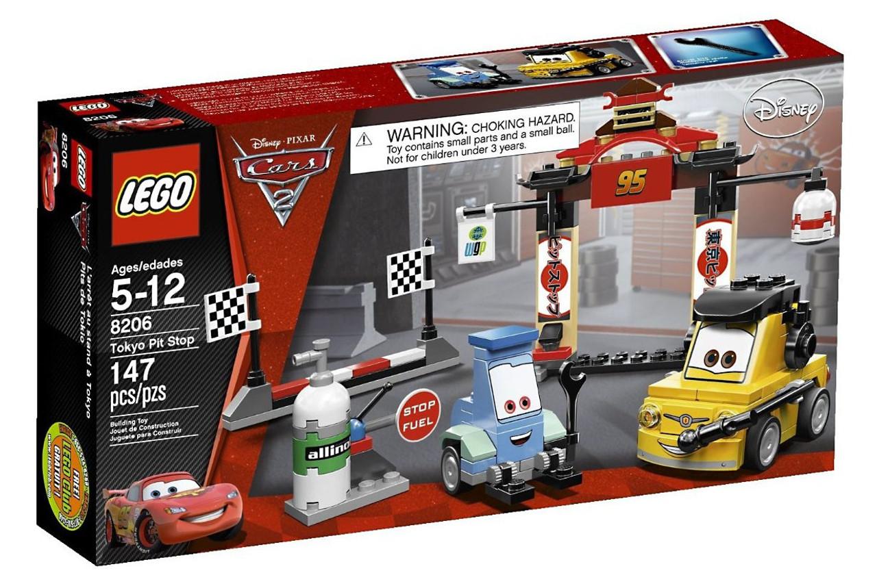 LEGO Disney Cars Cars 2 Tokyo Pit Stop Set #8206
