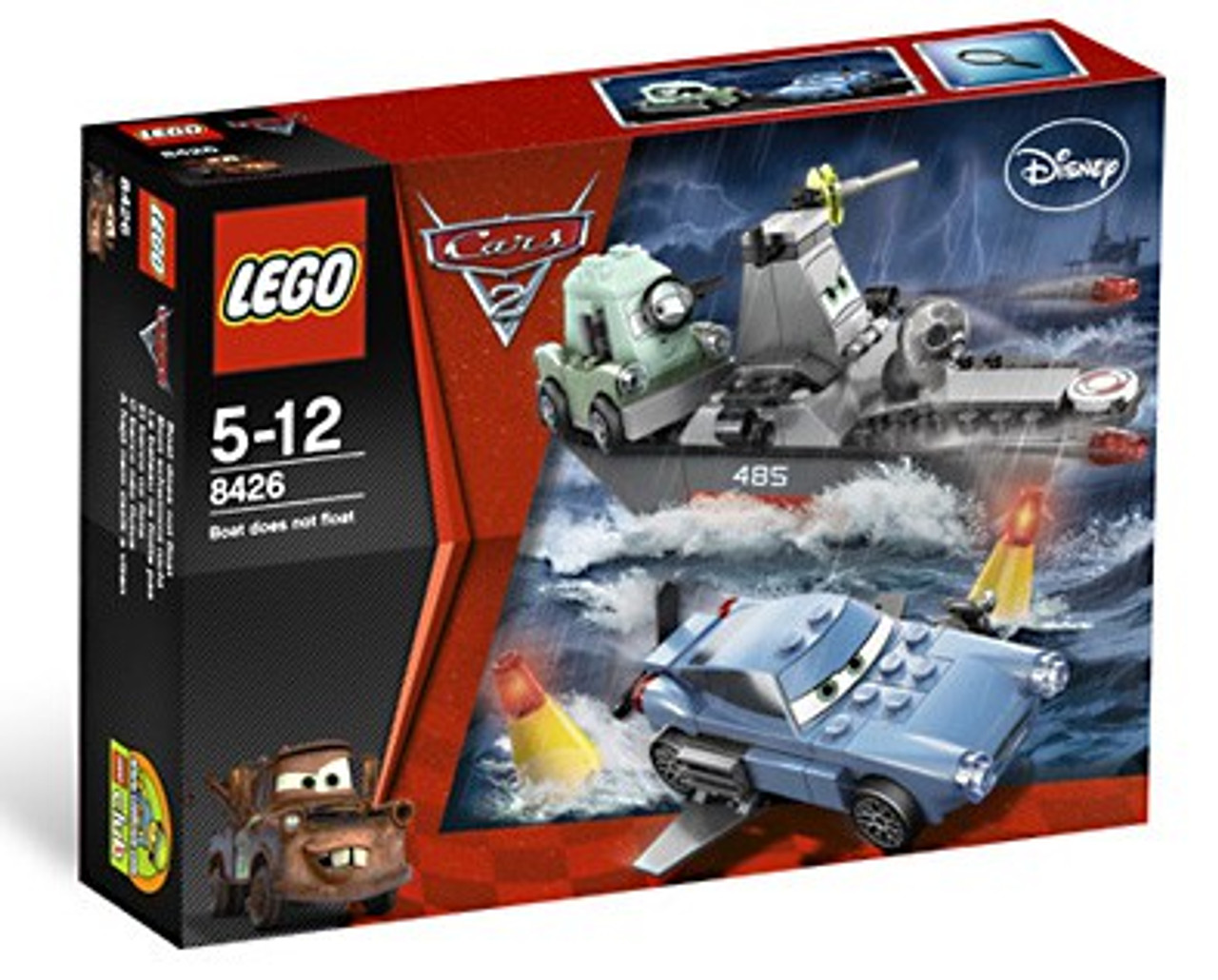 LEGO Disney Cars Cars 2 Escape at Sea Set #8426