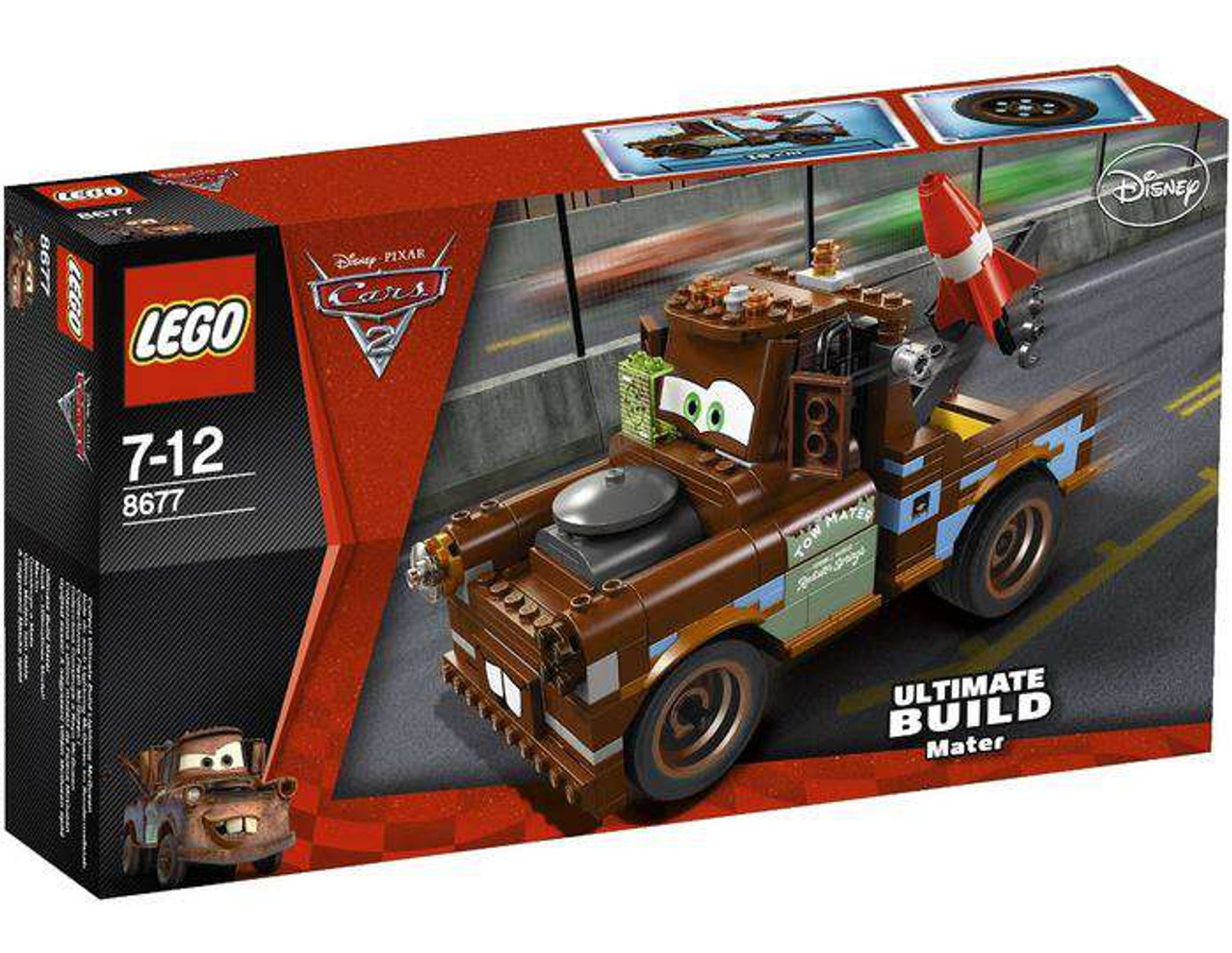 LEGO Disney Cars Cars 2 Ultimate Build Mater Exclusive Set #8677