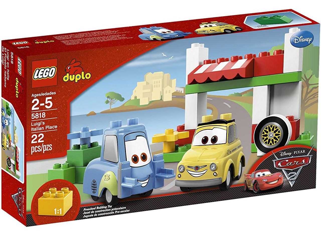 LEGO Disney Cars Duplo Cars 2 Luigi's Italian Place Set #5818