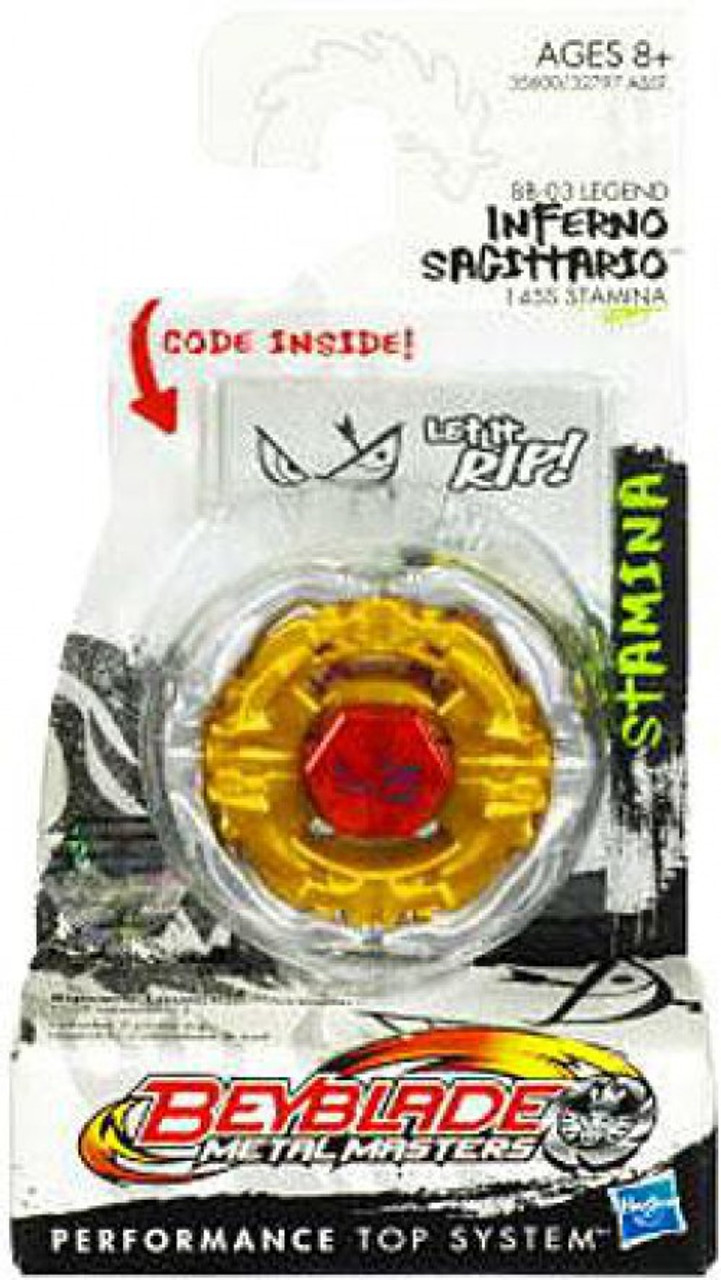 Beyblade Metal Masters Inferno Sagittario Booster Pack BB-03 [Legend]