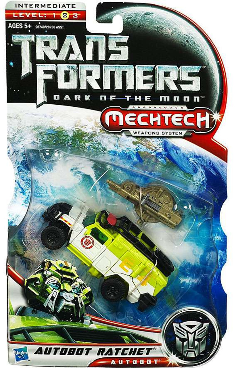 Transformers Dark of the Moon Mechtech Autobot Ratchet Deluxe Action Figure