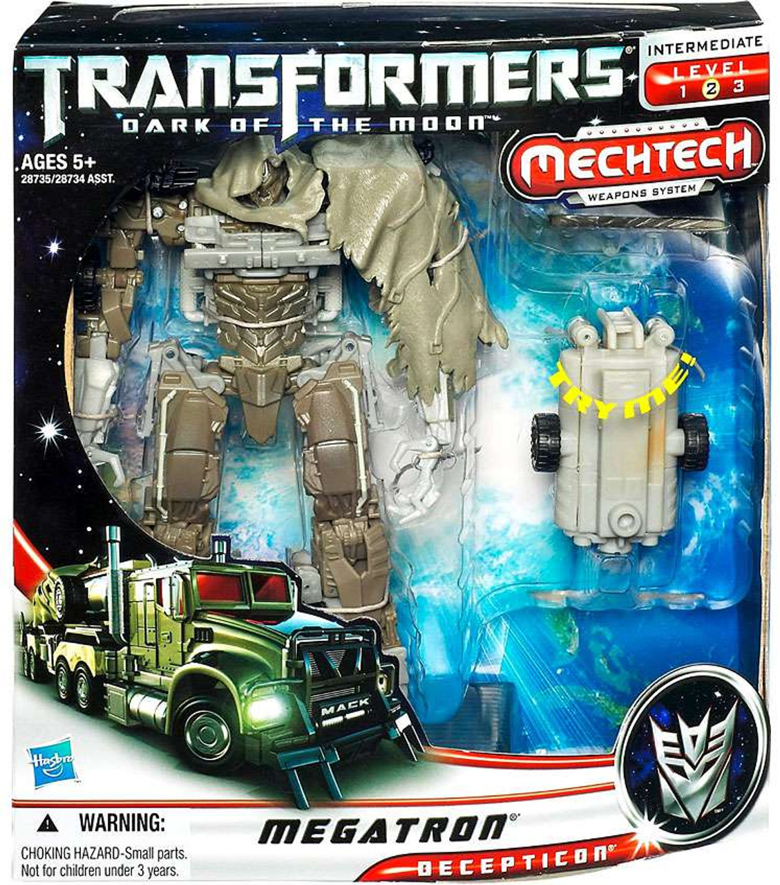 Transformers Dark of the Moon Mechtech Voyager Megatron Voyager Action Figure