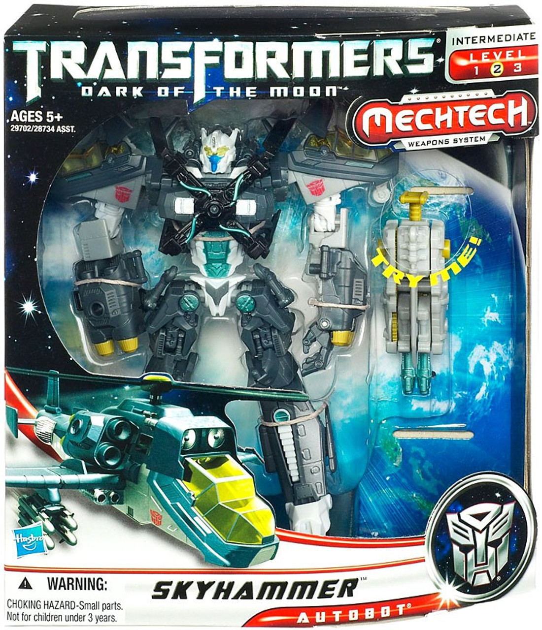 Transformers Dark of the Moon Mechtech Voyager Skyhammer Voyager Action Figure