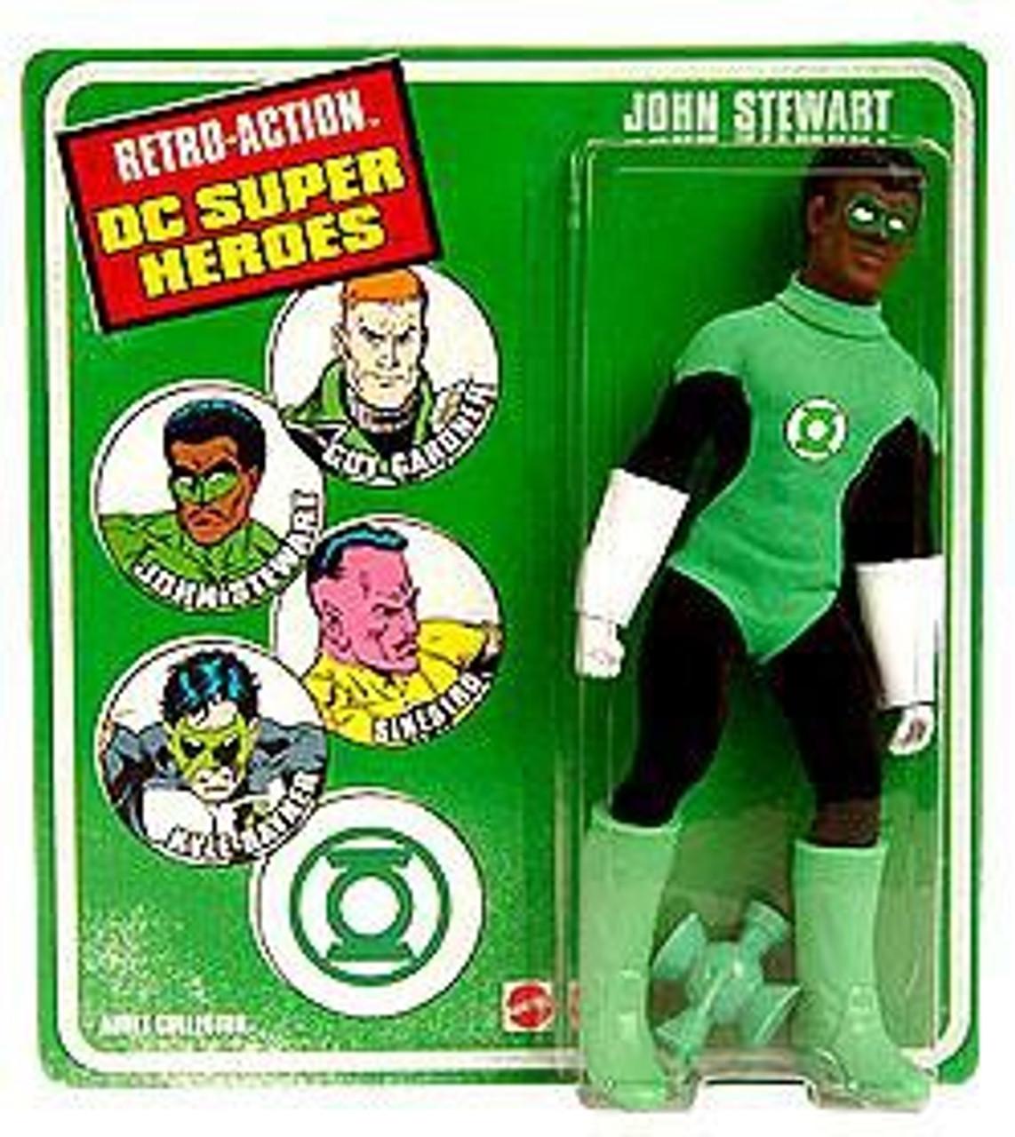 DC Green Lantern World's Greatest Super Heroes Retro Series John Stewart Exclusive Retro Action Figure