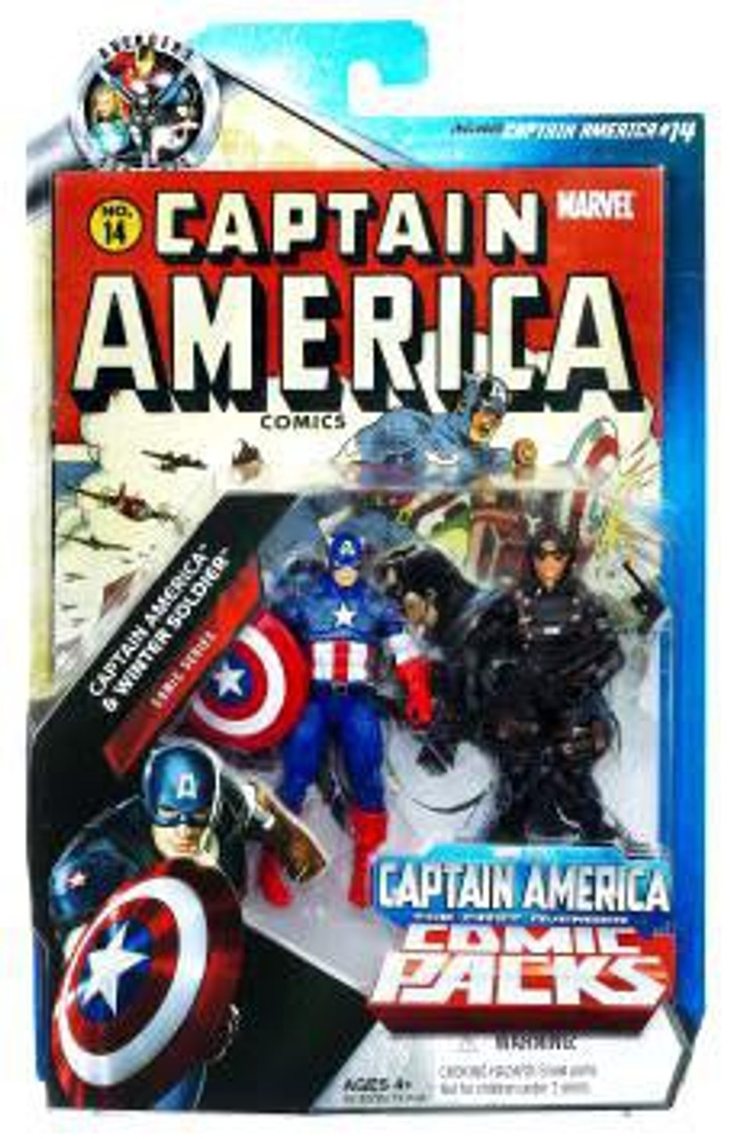 Marvel Universe Captain America & Winter Soldier Exclusive Action Figure 2-Pack