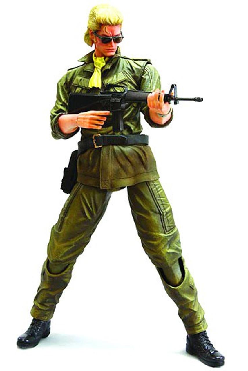 Metal Gear Solid Peace Walker Play Arts Kai Miller Action Figure