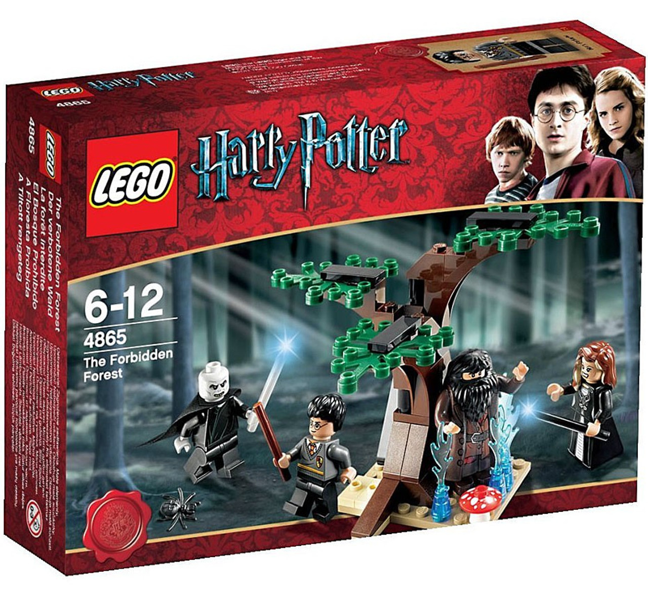 LEGO Harry Potter Series 2 The Forbidden Forest Set #4865