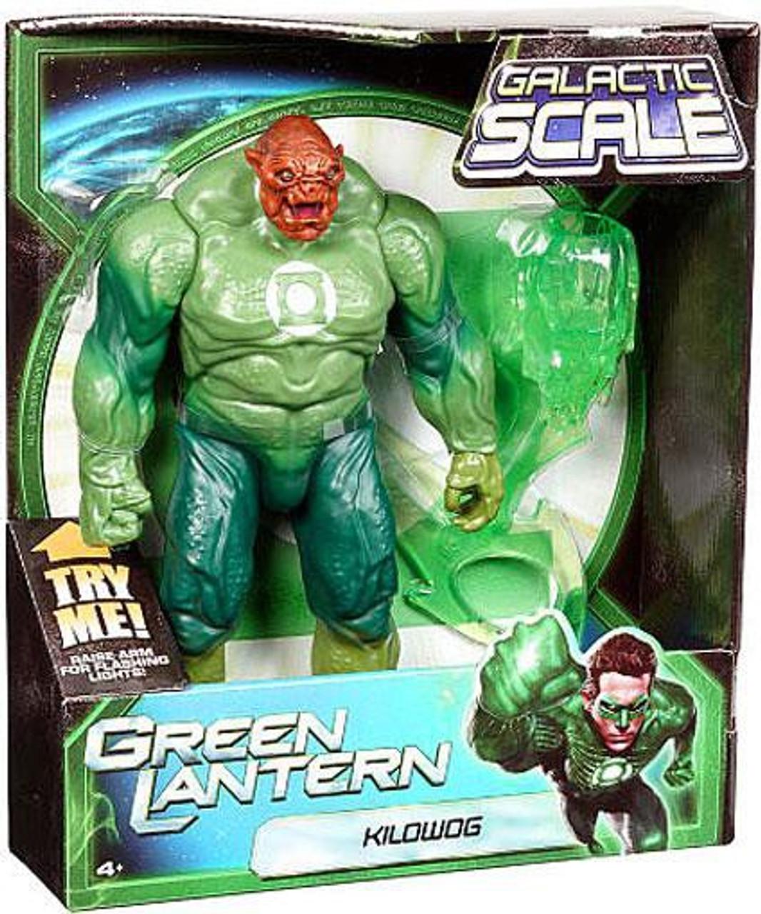 Green Lantern Galactic Scale Kilowog Action Figure