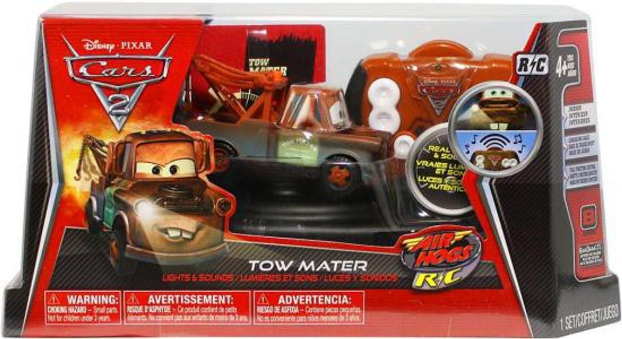 Disney Cars Cars 2 Air Hogs R/C Tow Mater Remote Control Car [Lights & Sounds]