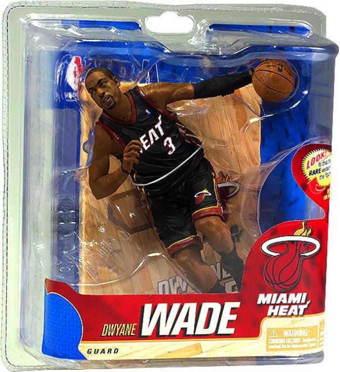 McFarlane Toys NBA Miami Heat Sports Picks Series 20 Dwyane Wade Action Figure [Black Jersey]