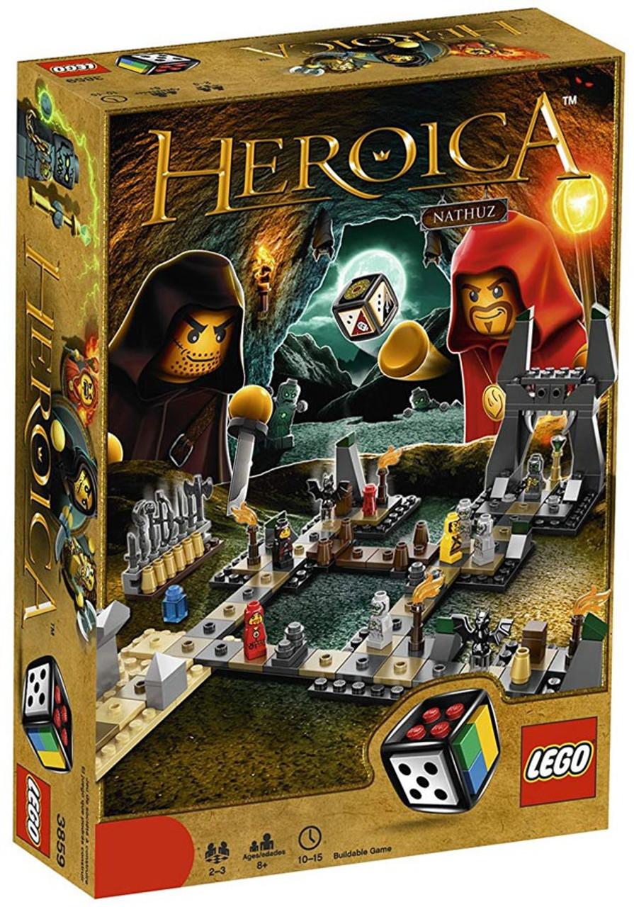 LEGO Heroica Caverns of Nathuz Set #3859