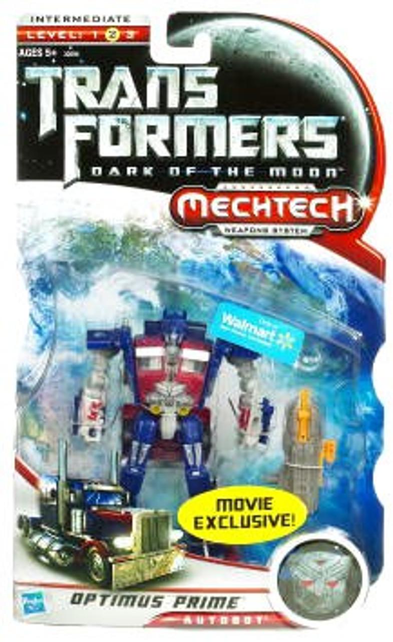 Transformers Dark of the Moon Mechtech Optimus Prime Exclusive Deluxe Action Figure