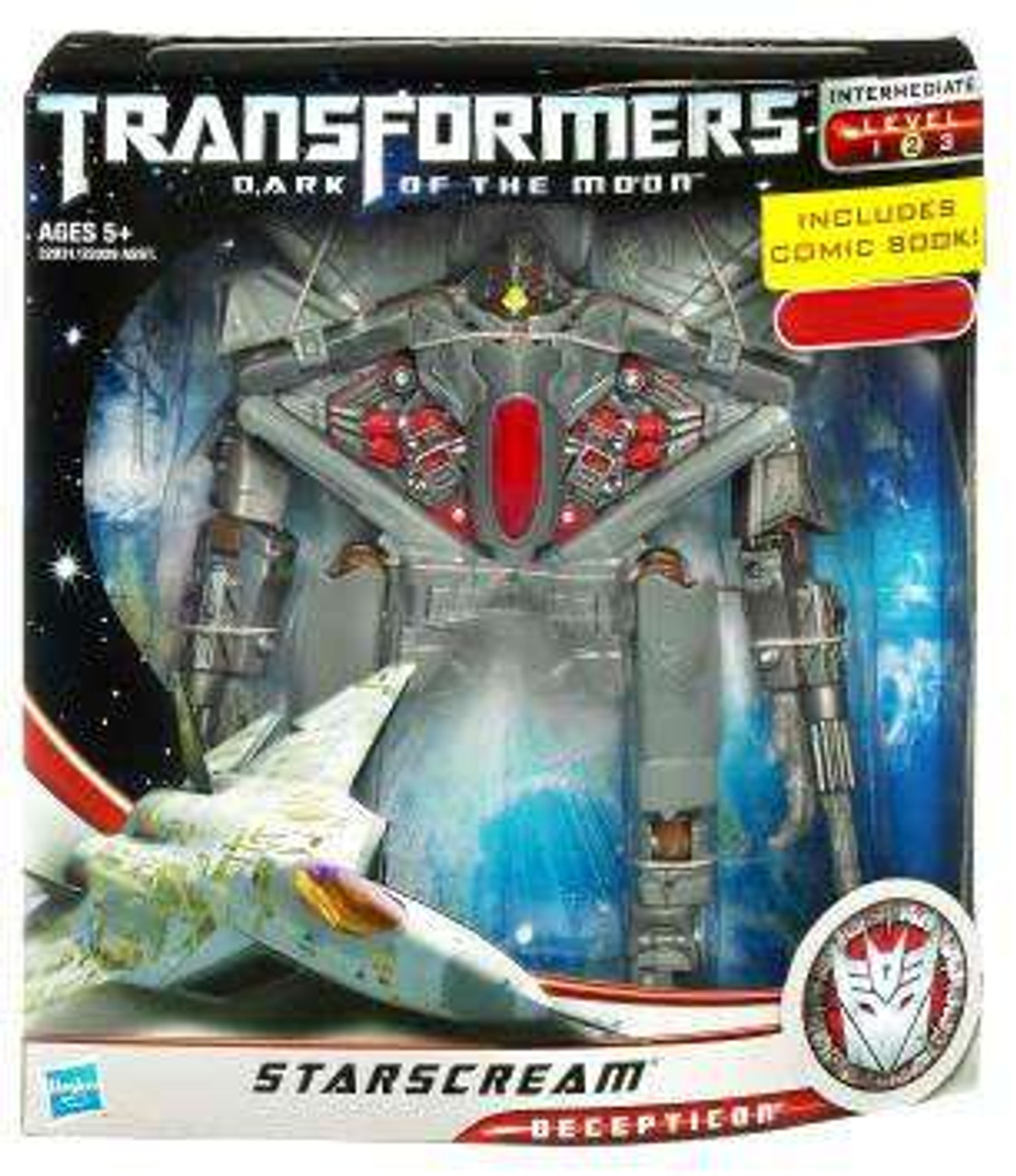 Transformers Dark of the Moon Exclusives Voyager Starscream Exclusive Voyager Action Figure