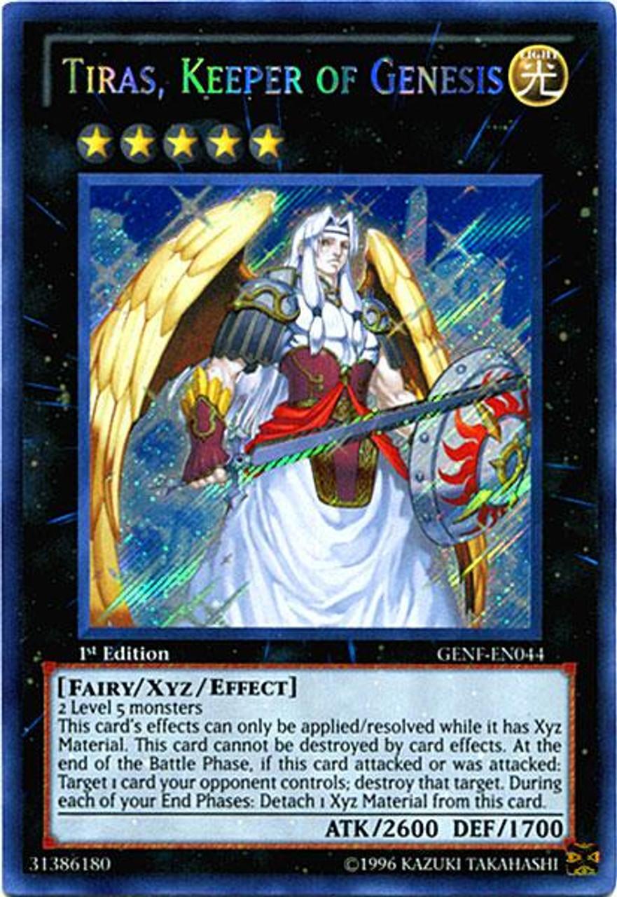 yugioh zexal generation force single card secret rare