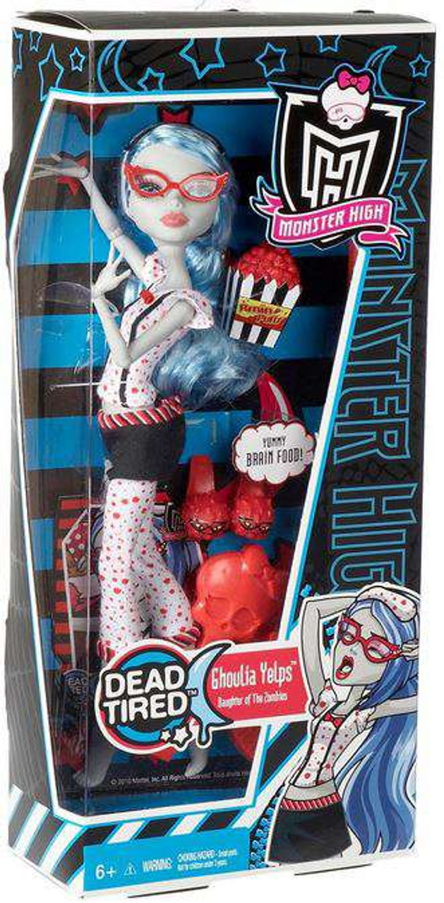 Monster High Dead Tired Ghoulia Yelps 10.5-Inch Doll