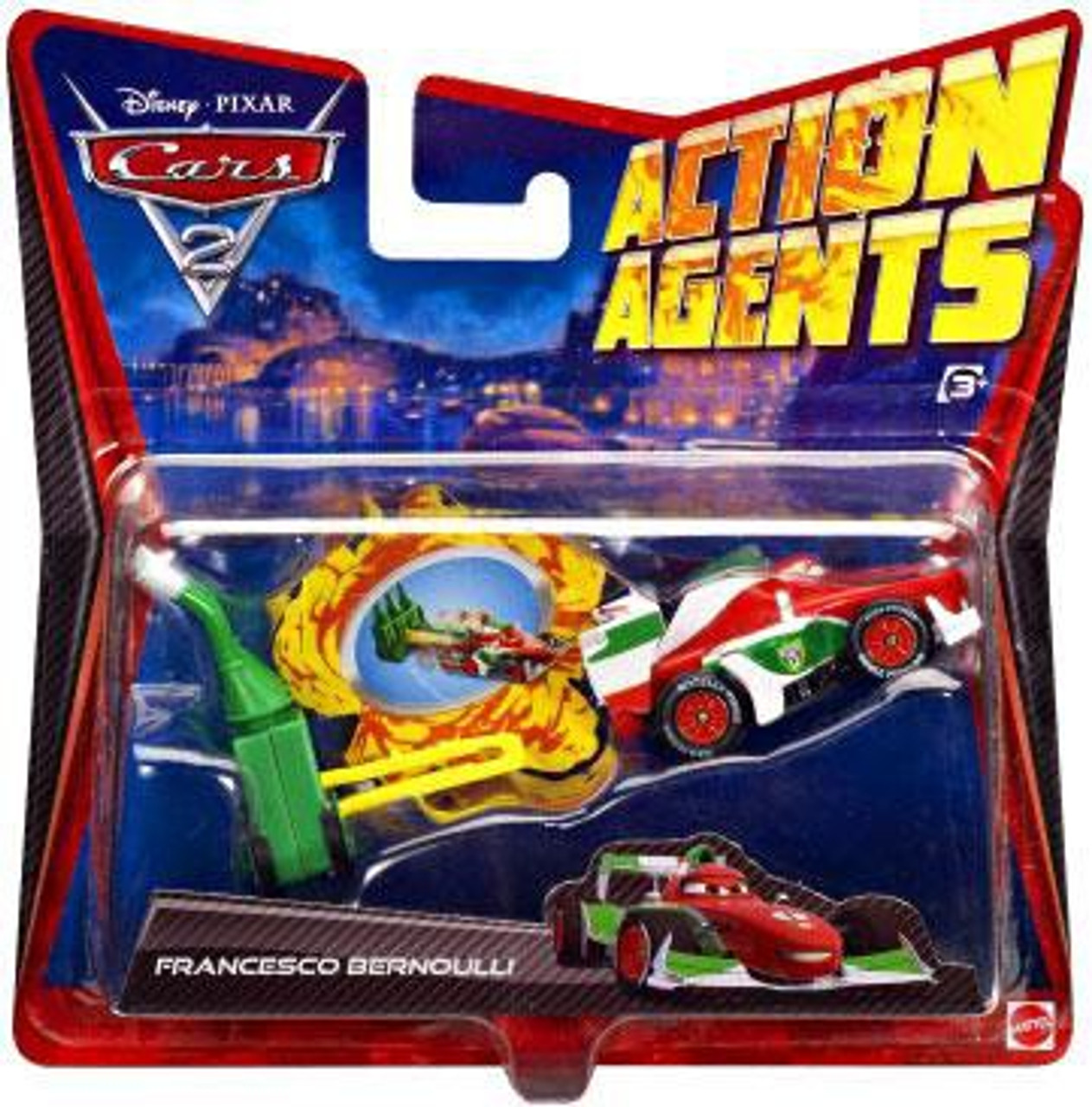 Disney Cars Cars 2 Action Agents Francesco Bernoulli Plastic Car