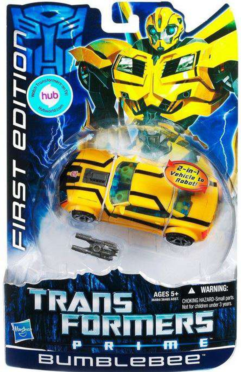 Transformers Prime First Edition Deluxe Bumblebee Deluxe Action Figure