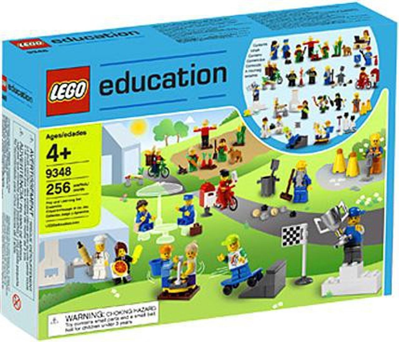 LEGO Education Community Minifigures Set #9348