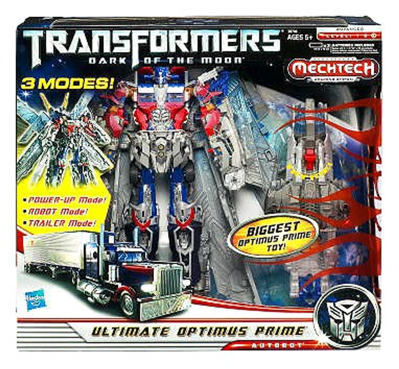 Transformers Dark of the Moon Mechtech Leader Ultimate Optimus Prime Leader Action Figure