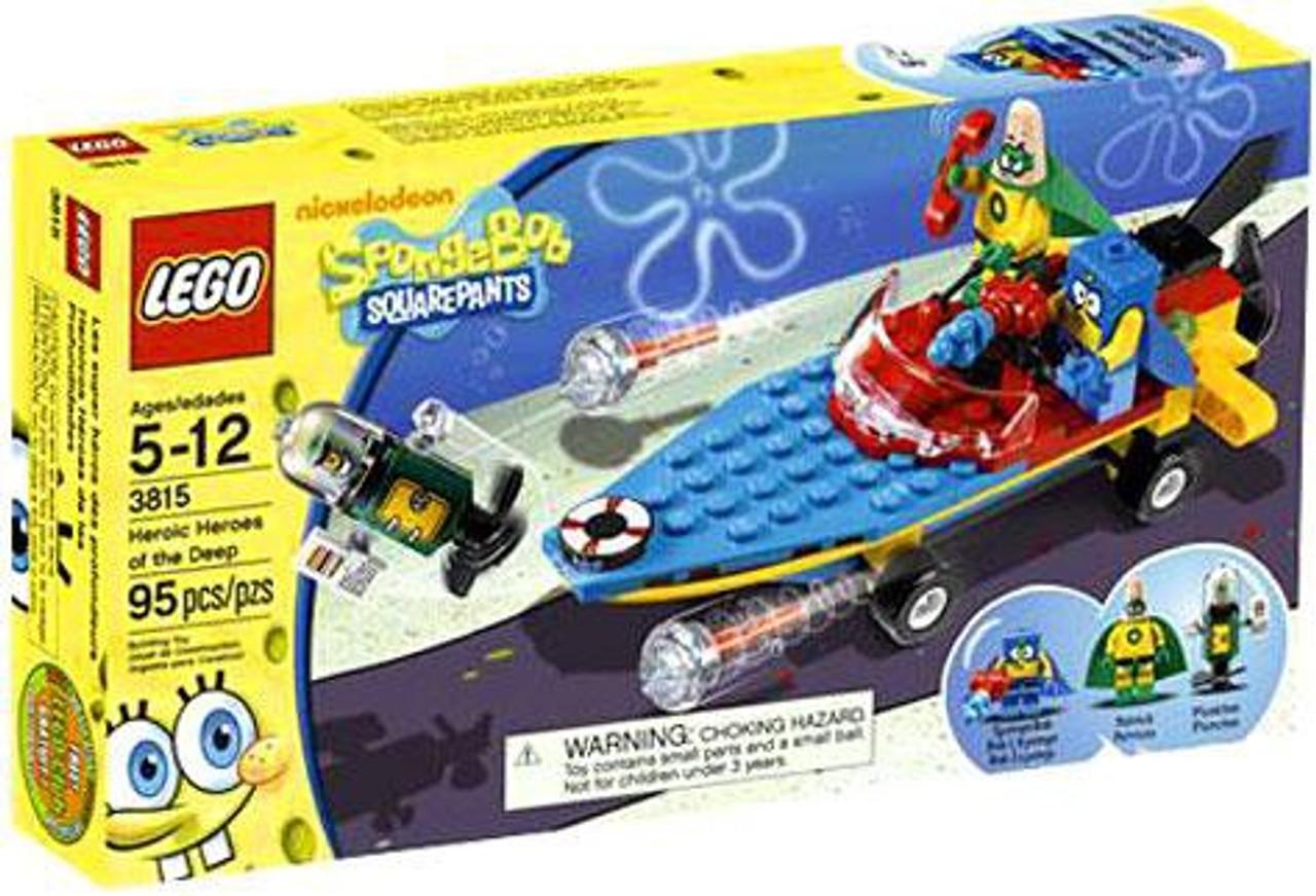 LEGO Spongebob Squarepants Heroic Heroes of the Deep Set #3815