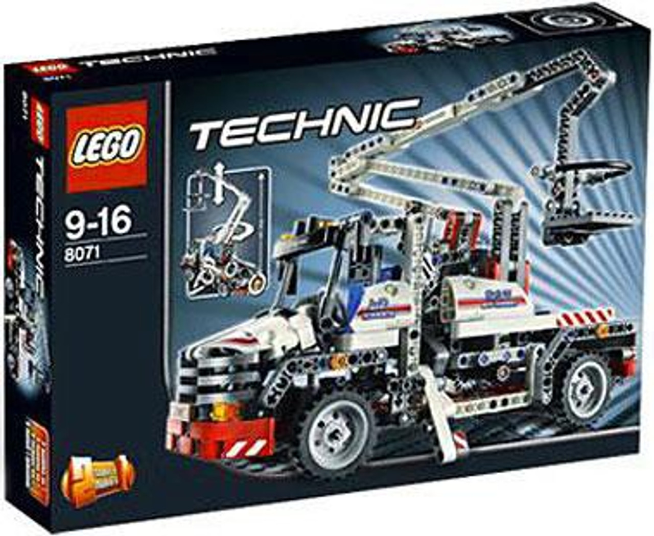 LEGO Technic Bucket Truck Set #8071