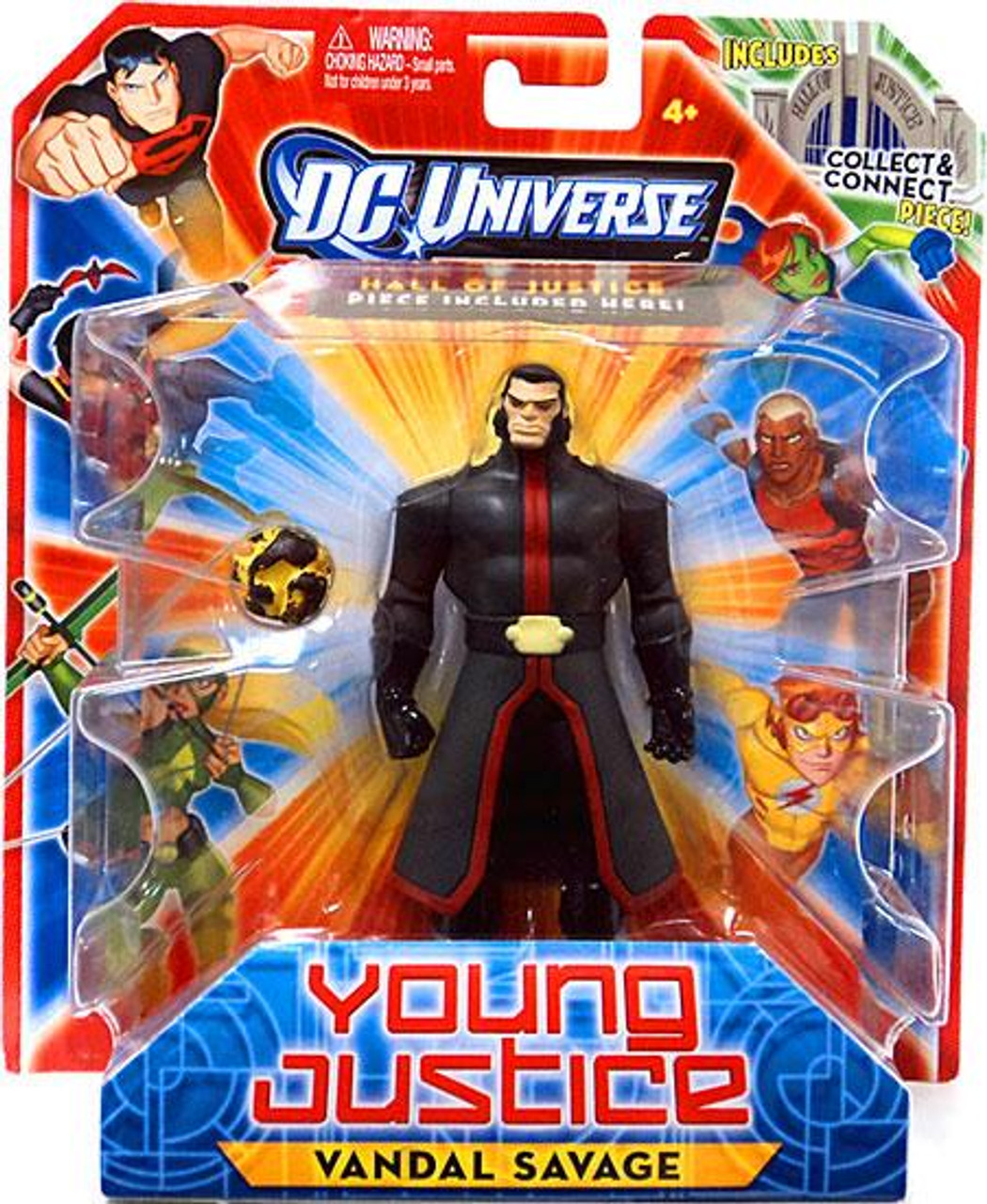 DC Universe Young Justice Vandal Savage Action Figure