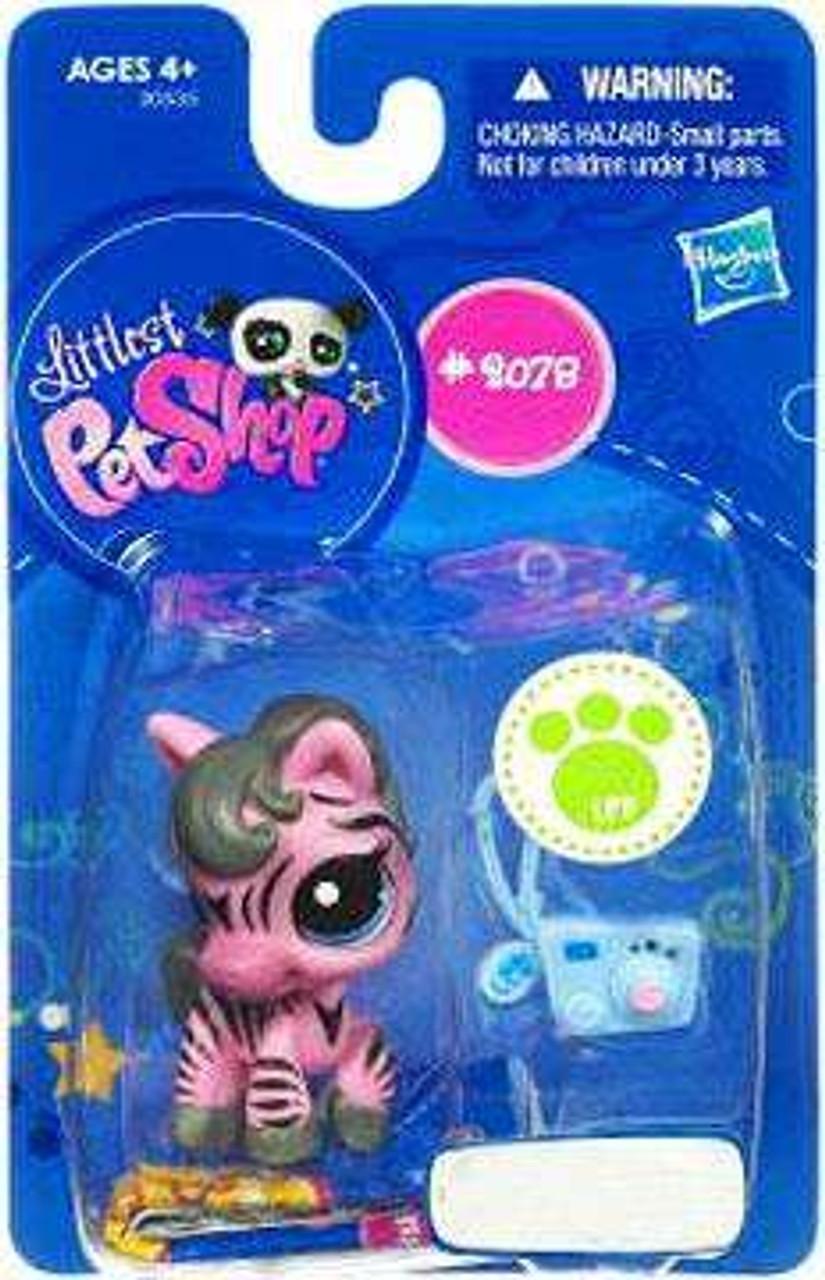 Littlest Pet Shop Pink Zebra Exclusive Figure #2078