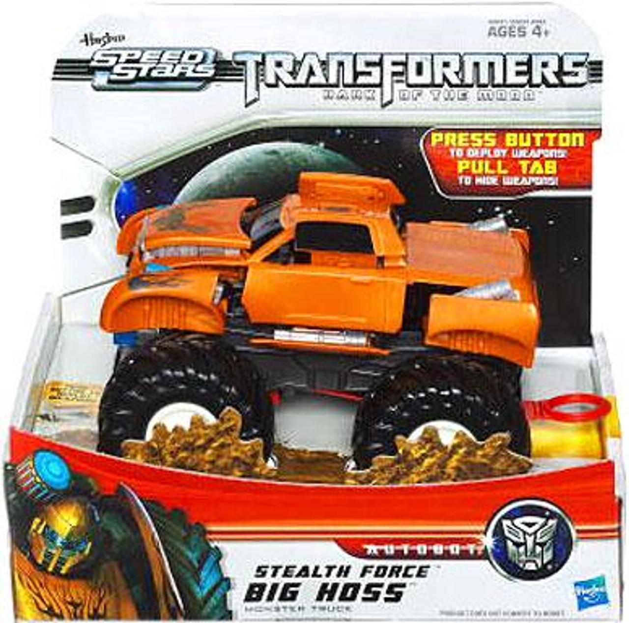 Transformers Dark of the Moon Speed Stars Stealth Force Big Hoss Monster Truck